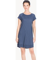 lilla p curved hem dress