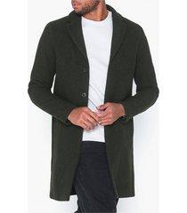 selected homme slhbrove wool coat b jackor mörk grön