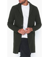 selected homme slhbrove wool coat b jackor mörk grön