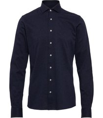 bs aske skjorta business blå bruun & stengade