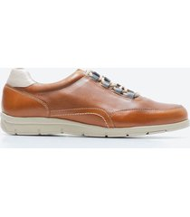 sneakers casual hombre freeport zmwo caramelo