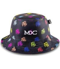 chapéu bucket multcaps mxc colors preto