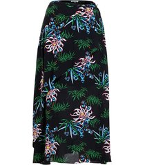 soft midi skirt