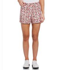 pga tour women's watermelon-print satin mini golf shorts