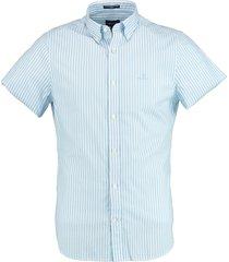 gant overhemd broadcloth blauw rf 3062001/468