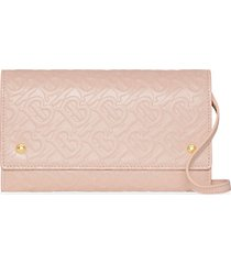 hazelmere embossed leather convertible wallet