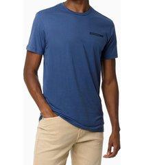 camiseta mc ckj masc components - azul médio - pp