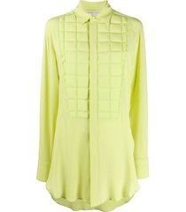 bottega veneta embossed shirt - green
