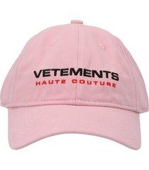 vetements insecurity cap