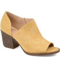 journee collection women's d'orsay hartli bootie women's shoes