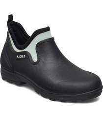 ai lessfor plus marine/wave regnstövlar skor blå aigle