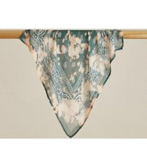 sundance catalog women's painted breezes bandana in plum