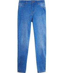 jean skinny mujer color azul, talla 10