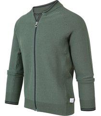 blue industry heren vest regular fit