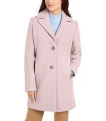 tahari two-button reefer coat