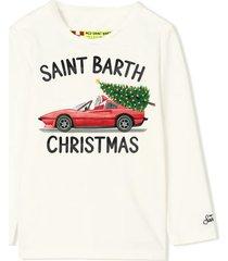 mc2 saint barth t-shirt boy saint barth christmas print