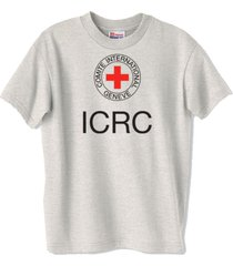 icrc international committee of the red cross t-shirt