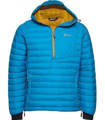 høgeheia down anorak outerwear jackets anoraks blauw skogstad