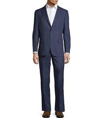 wool-blend suit