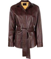 raquette the western jacket - brown