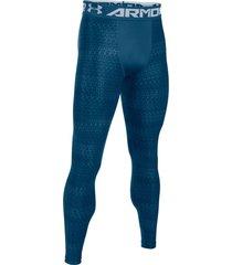 pantalón azul under armour heatgear 2.0 novelty compression