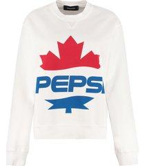 dsquared2 dsquared2 x pepsi cotton sweatshirt