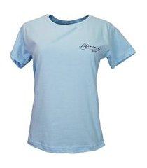 t-shirt abençoada azul