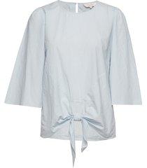 paila bl blouse lange mouwen blauw part two
