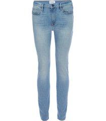 men's frame l'homme athletic slim fit jeans, size 38 - blue
