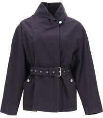 isabel marant prunille belted jacket