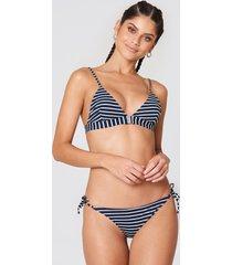 samsoe & samsoe myrara bikini bottom aop - blue,multicolor