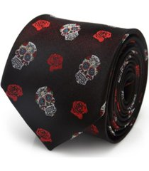 cufflinks inc sugar skull men's tie