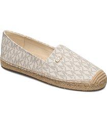 kendrick slip on sandaletter expadrilles låga creme michael kors shoes