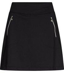 madge skort 45 cm kort kjol svart daily sports