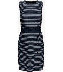 tommy hilfiger women's essential sleeveless stripe dress navy - 6