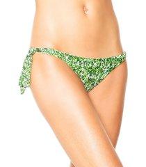 calcinha fiveblu string sofia verde/branca