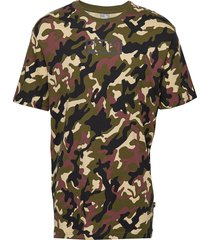 rebel camo tee t-shirts short-sleeved grön puma