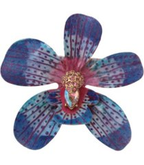 betsey johnson orchid hair clip