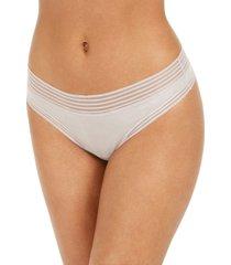 calvin klein striped-waist thong underwear qd3670