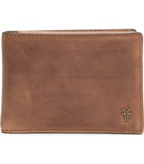 frye holden leather passcase wallet in whiskey at nordstrom