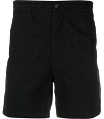polo ralph lauren tailored bermuda shorts - black