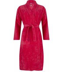 dames badjas pastunette 369 coral rood-xl
