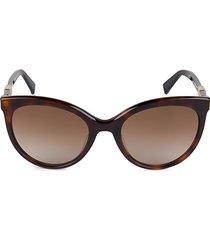 52mm jewel ii oval sunglasses