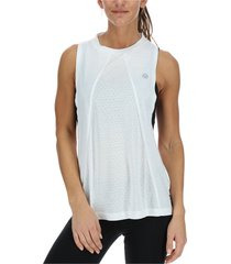 polera s/m high neck tank blanco body & soul