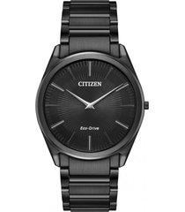 reloj eco-slim negro citizen