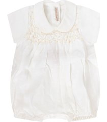 little bear white babykids romper