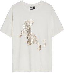 t-shirt golden tiger