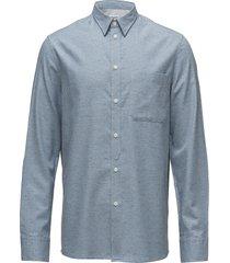 m. heath tweed shirt overhemd business blauw filippa k