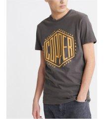 superdry men's copper label t-shirt