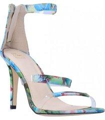 sandalia gigi floral verde we love shoes